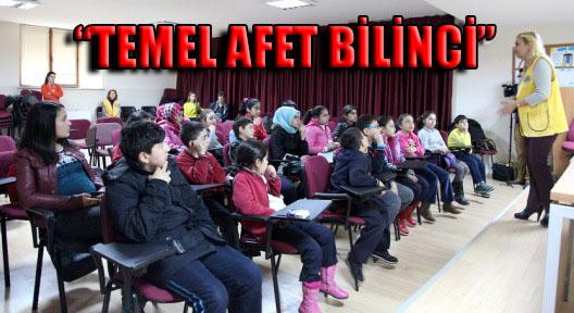 """Ataşehirli Öğrencilere """" Temel Afet Bilinci"""" Eğitimi Verildi"""