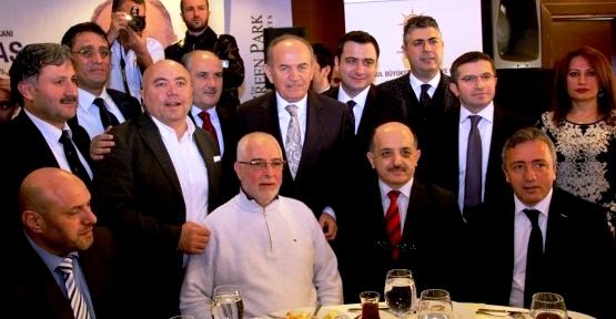 Kadir Topbaş 'Ataşehir'e İki Metro, Hal Taşınacak'
