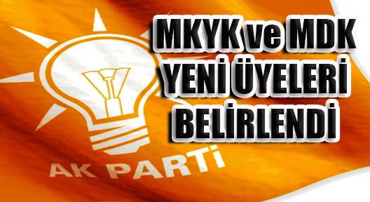 AK Parti MKYK ve MDK Üye Listesi