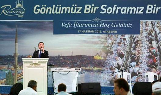 'ATAŞEHİR VEFA İFTARI' AK PARTİLİLERİ BULUŞTURDU