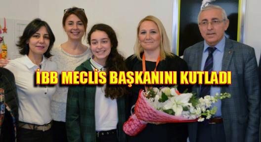 CHP'den İBB Meclis Başkanı Alara Tuncer'i Ziyaret