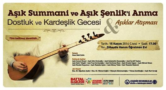 Aşıklar Ataşehir'de Atışacak