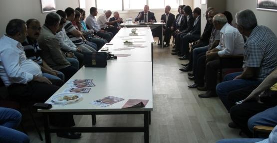 MHP 'Demokrasi' Heyetinden ATAÇANDER'e ziyaret