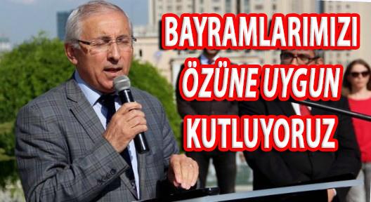 ALTINKAYNAK 'MİLLİ DEĞERLERİN ALTERNATİFİ OLMAZ'