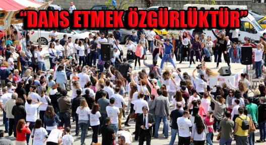 Ataşehir Özgürce Dans Etti