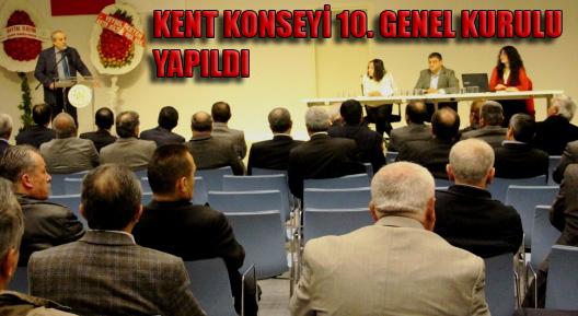 Ataşehir Kent Konseyi 10. Olağan Genel Kurulu Yapıldı
