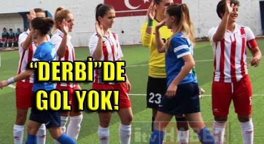 ATAŞEHİR – KONAK Kadın Futbolu Derbisinde Beraberlik