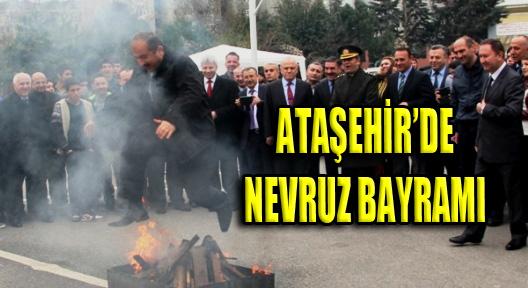 Ataşehir Nevruz Bayramı'nı Remzi Bayraktar'da Kutladı