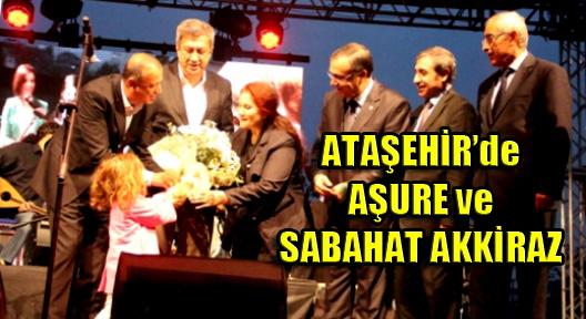 Ataşehir Belediyesi Aşure Dağıtıp Sabahat Akkiraz Konseri Düzenledi