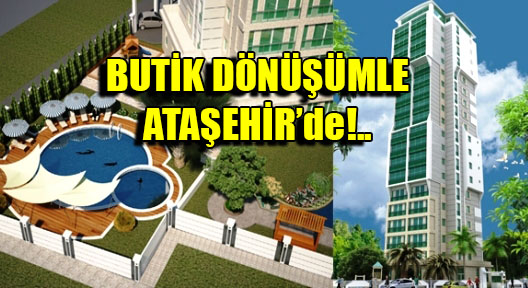 Ataşehir'de Sarıkaya Tower'le Butik Dönüşüm