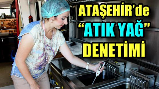Ataşehir'de Bitkisel Yağların Kontrolü ve Toplanmasına Devam!..