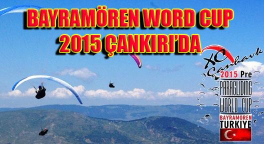 Yamaç Paraşütü Dünya Kupası Çankırı Bayramören'de