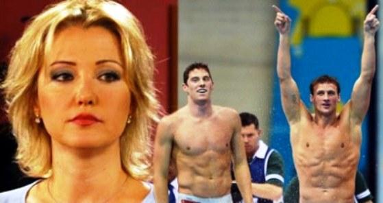 Berna Laçin 'Erkek yüzücülerin vücutları şahane'