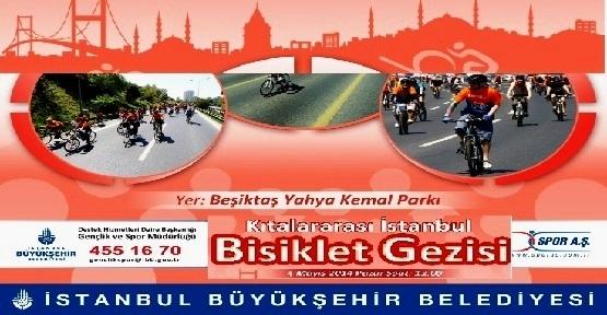 Bisikletseverler, İstanbul Bisiklet Gezisi'nde Buluşuyor
