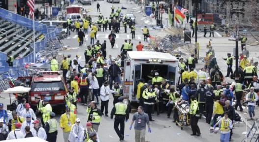 Boston Maratonu'nda patlamalar oldu