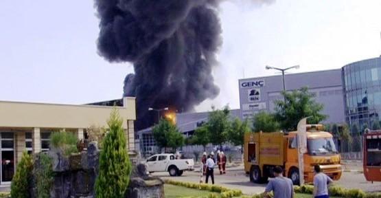 Tuzla OSB'de Boya fabrikasında yanıgın!