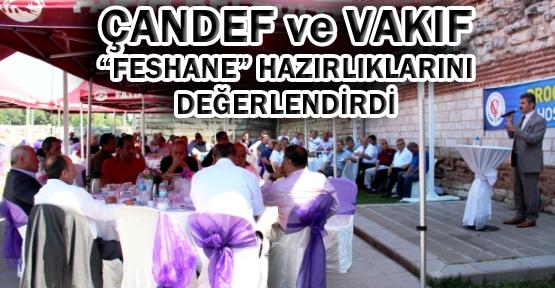 ÇANDEF ve Çankırı Vakfı Dernekleri 'Feshane' İçin Topladı