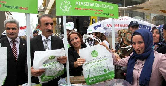 Ataşehir Belediyesi Çevreye Sahip Çıkıyor