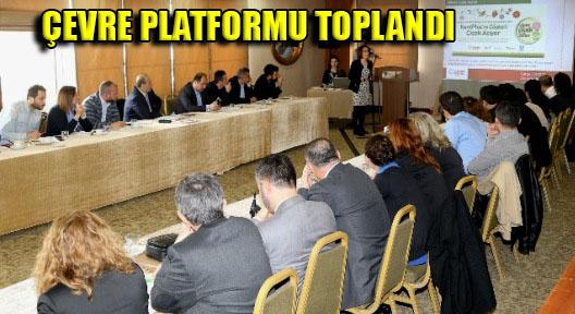 Ataşehir'de 'Çevre Platformu İstanbul Toplantısı' Yapıldı