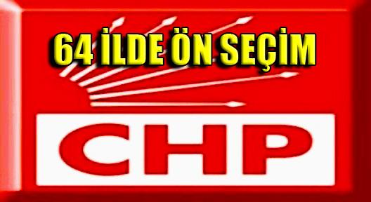 CHP'de, 64 ilde fermuar yöntemli ön seçim