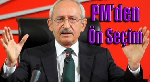 CHP PM'de Ön Seçim Kararı Çıktı