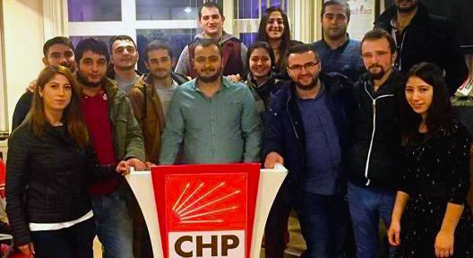 'CHP Ataşehir Gençlik'te Görev Dağılımı