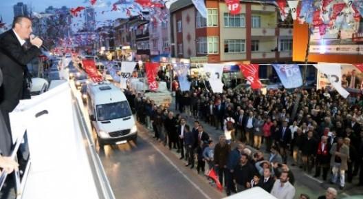 Başkan İlgezdi İçerenköy Seçim Ofisi'nin açılışını yaptı