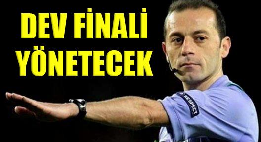 Şampiyonlar Ligi Finali Türk Hakemin