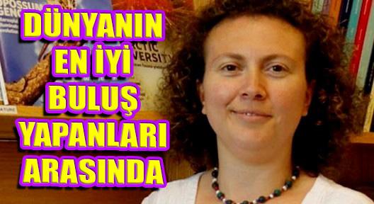 2015'İN EN İYİ BULUŞ ÖDÜLÜ DR.HANDE ÖZDİNLER'E