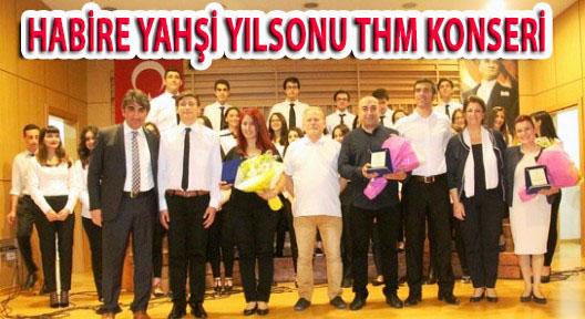 HABİRE YAHŞİ ANADOLU LİSESİ'NDEN YILSONU KONSERİ