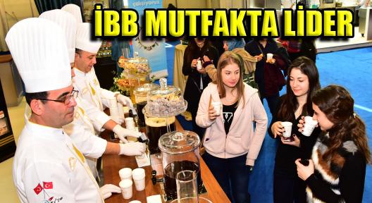 Mutfakta Lider İBB Ekibi Kadir Topbaşı'la