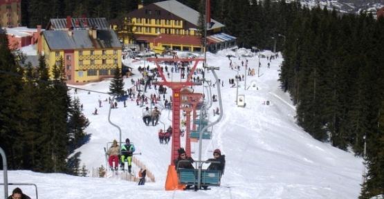 Ilgaz Dağı Kayak Merkezi Kış Turizmi ve Kayak Sporuna Hazır