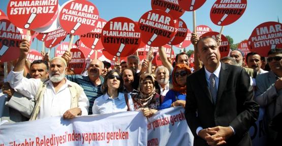 Ataşehir'den Büyükşehir'e Büyük Protesto