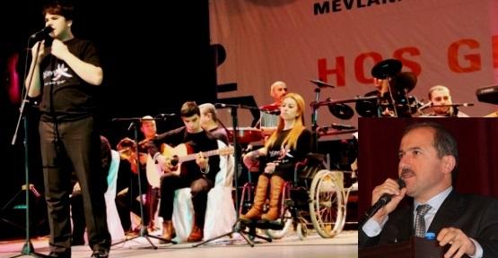 İBB ve İSEM Ataşehir'de Engelliler ve Mevlana Etkinliği Düzenledi