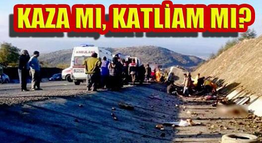 Isparta'da Katliam Gibi Kazada 15 Can Kaybı