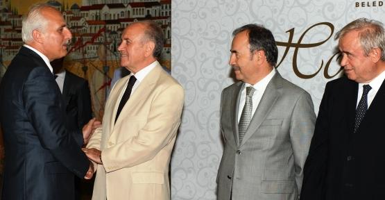 İstanbul protokolü iftarda bir araya geldi