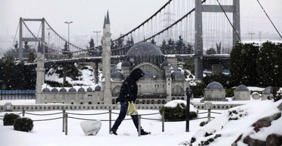 İstanbul`da 'Kar'lı Haftasonu