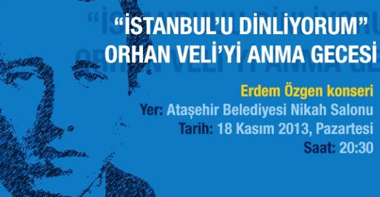 Ünlü Şairimiz Orhan Veli Ataşehir'de anılacak