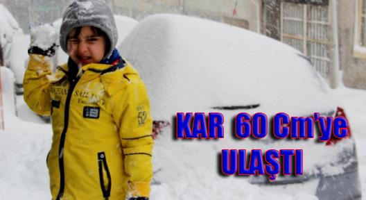60 Cm'ye Ulaşan Sibirya Karı İstanbul'u Esir Aldı