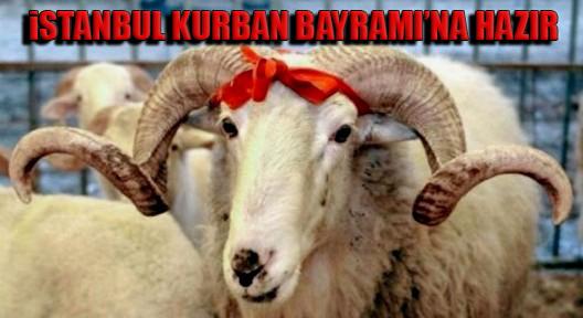 İSTANBUL BAYRAMA HAZIR