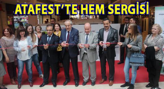 ATAFEST'TE HEM KURSİYERLERİNİN SERGİSİ