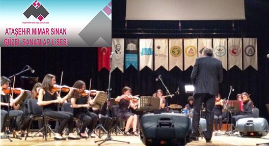 Mimar Sinan Lisesi Beşiktaş Müzik Fest´e Katıldı
