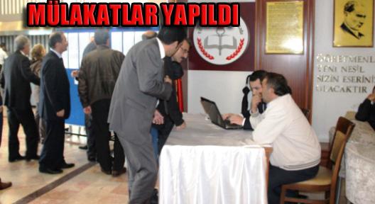 Ataşehir'de Müdürlük Mülakatları Yapıldı