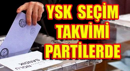 Erken Seçim Tarihi Partilere Gönderildi