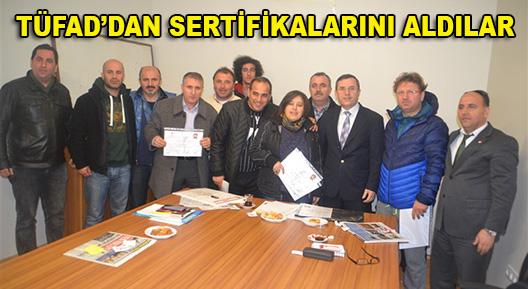 TÜFAD'dan Ataşehir'li Antrenörlere Sertifika
