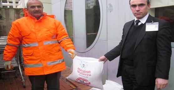 Ataşehir'de Kar Hazırlıkları Başladı