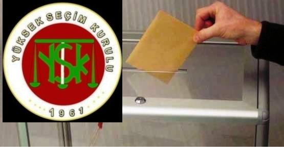YSK, 'Seçim Büroları 1 Ocak'ta Açılabilir'